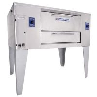 bakers pride d-125 gas deck oven single