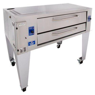 bakers pride y-600 gas deck oven single