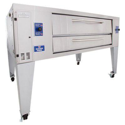 bakers pride y-800 gas deck oven single
