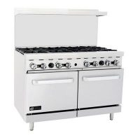 efi rctrs-24g4b commercial gas range with griddle