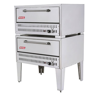 mke 552 gas deck oven double