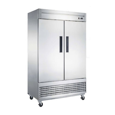 NSR-115-H New Air Reach-in Refrigerator NSR-115-H - Two Solid Door