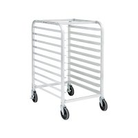 DRACK-1018-ALUNB Thorinox Open Bun Pan Rack DRACK-1018-ALUNB - 10 Pan