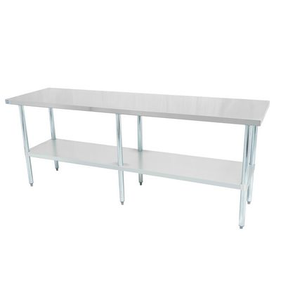 thorinox dsst-2496-gs work table stainless steel