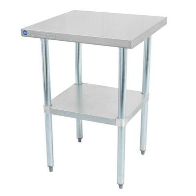"""DSST-3060-GS Thorinox Stainless Steel Work Table DSST-3060-GS - 60"""""""