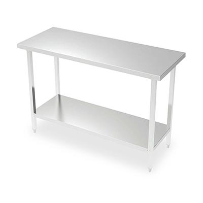 thorinox dsst-3072-sq work table stainless steel