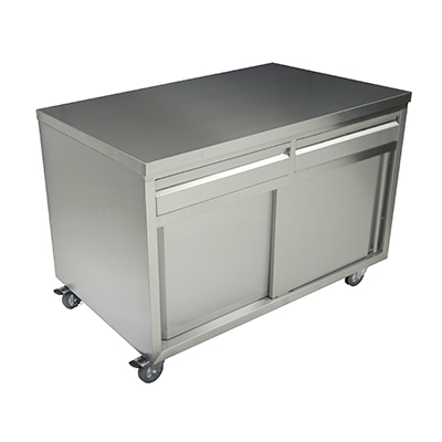 thorinox tcad-3048-ss storage cabinet with drawers