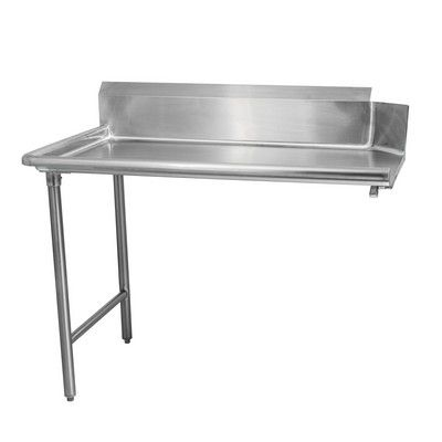 TCDT-3024-L Thorinox Left Clean Dish Table TCDT-3024-L - 24""
