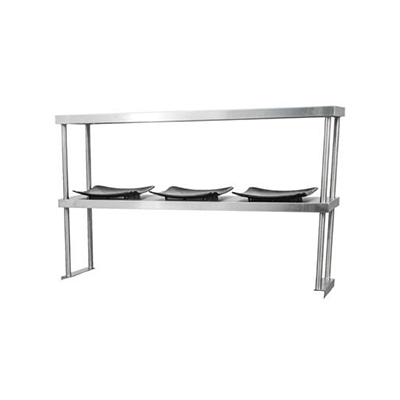 "TDOS-1472-SS Thorinox Double Over Shelf TDOS-1472-SS - 14"" x 72"""