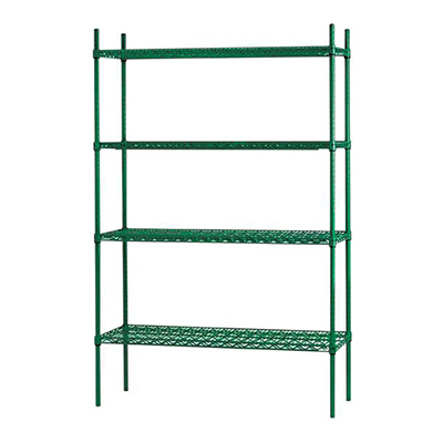 thorinox tges-2142 epoxy wire shelving