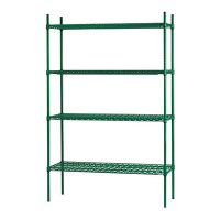thorinox tges-2436 epoxy wire shelving