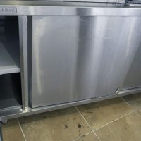 Open Box Thorinox Stainless Steel Cabinet TKCA-3060-SS No Drawers