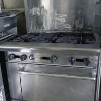 Used 6 Burner Range with Oven