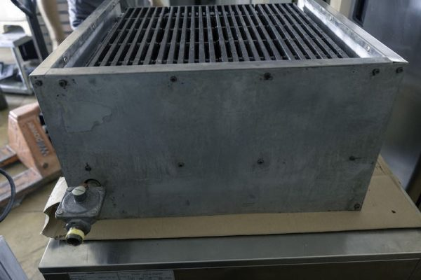 Used American Range Char Broiler AECB-24 24 Inches