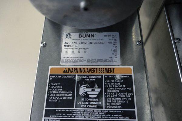 Used Bunn Coffee Brewer ST-35