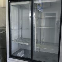 Used Coldstream Merchandising Refrigerator LSCP18GS Two Door, Sliding