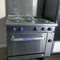 Used Imperial Electric Range IR-6-E With Oven