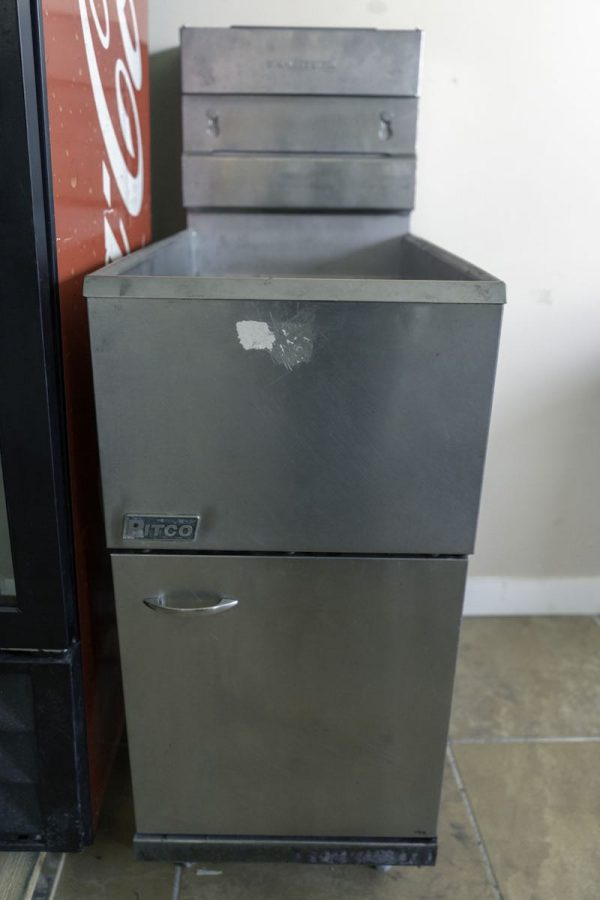 Used Pitco Gas Deep Fryer 40C Gas