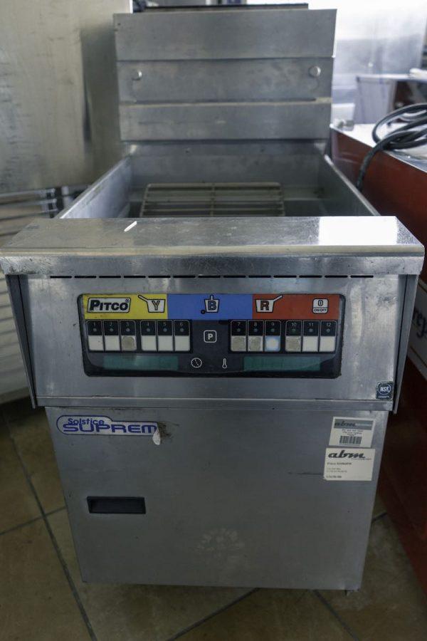 Used Pitco Gas Deep Fryer SSH60W Gas