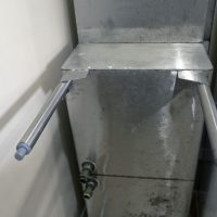Used Two Compartment Sink with Drainboard