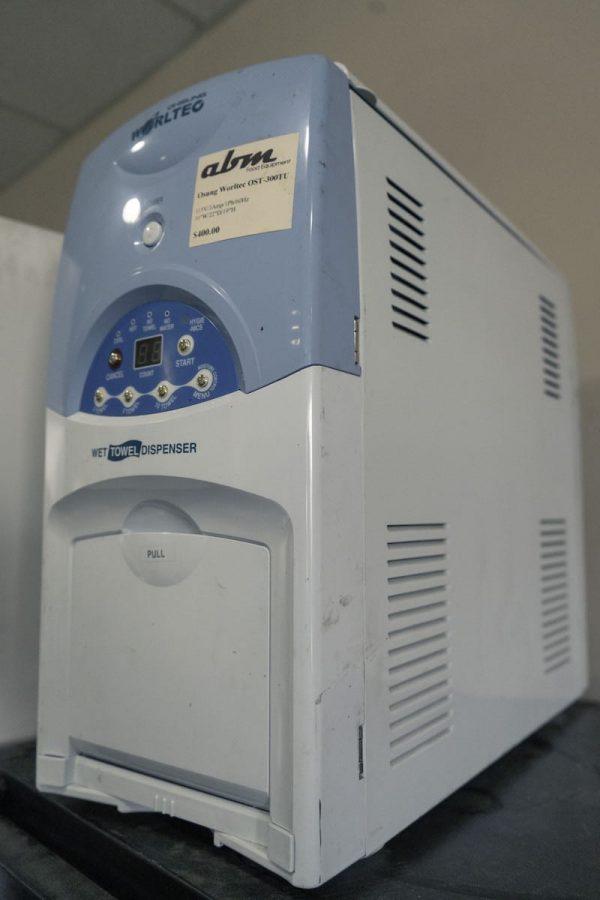 Used Worltec Wet Towels Dispenser OST-300TU