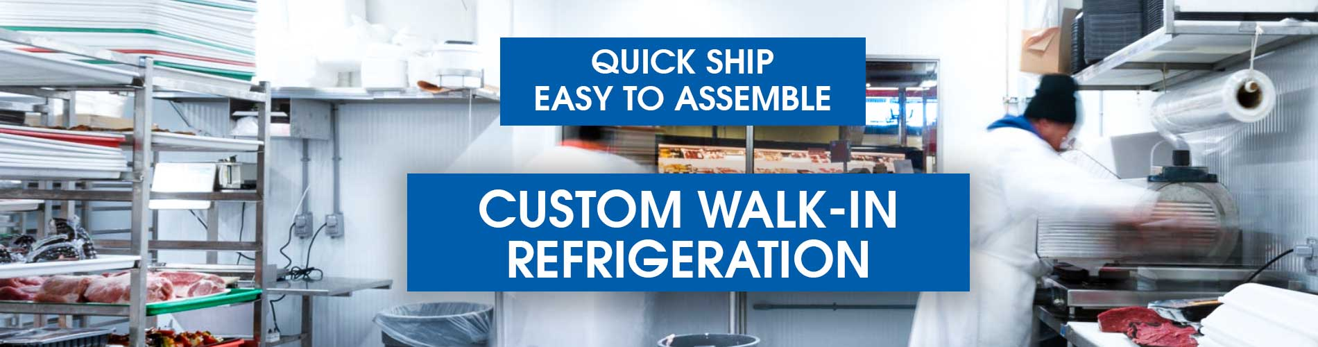 Custom Walk In Refrigeration - Refrigerators & Freezers