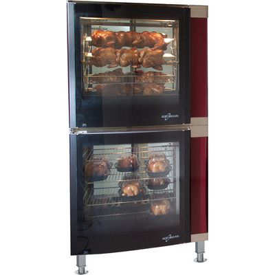 alto-shaam ar-7e electric rotisserie oven stacked