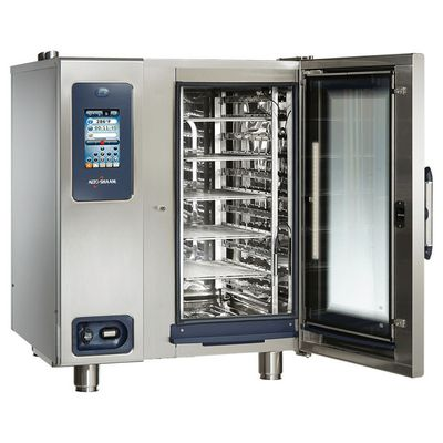 alto-shaam ctp10-10e electric combi oven door open