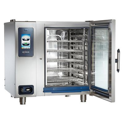 alto-shaam ctp10-20e electric combi oven door open