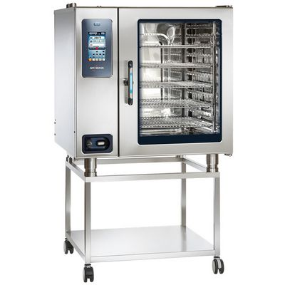 alto-shaam ctp10-20e electric combi oven on stand