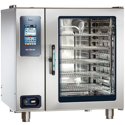 alto-shaam ctp10-20g gas combi oven front view