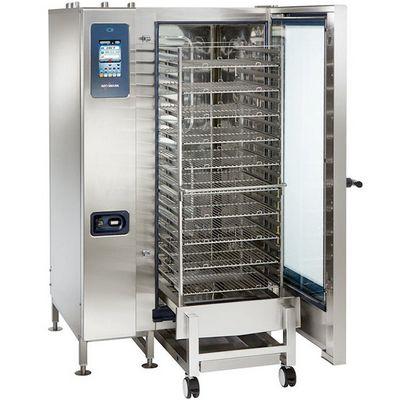alto-shaam ctp20-20g gas combi oven door open