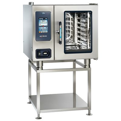 alto-shaam ctp6-10e electric combi oven on stand