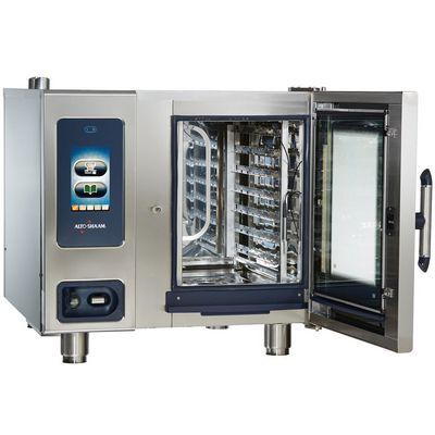 alto-shaam ctp6-10g gas combi oven door open