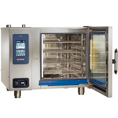 alto-shaam ctp7-20g gas combi oven door open