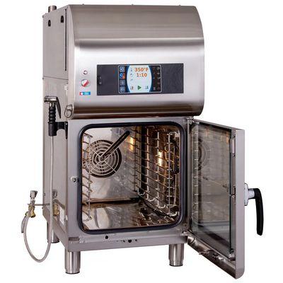 alto-shaam ctx4-10evh electric combi oven door opened