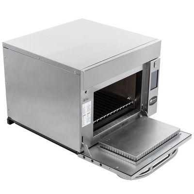 amana axp22t express combination high-speed cooking oven door open
