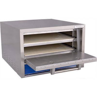 bakers pride p22s electric deck oven door open