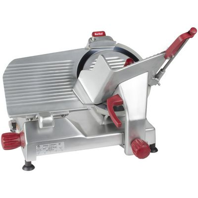 berkel 827a-plus manual meat slicer front view