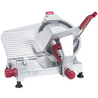berkel 827e-plus manual meat slicer front view