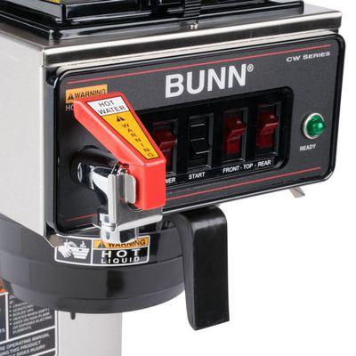 bunn cwtf15-aps single airpot coffee brewer control buttons