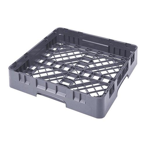 Cambro Camrack Soft Gray Polypropylene Base Rack BR258151 - 1 compartment