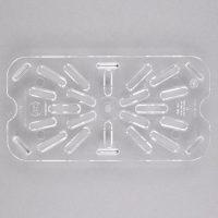 Cambro Clear Plastic Drain Shelf 40CWD135 - 1/4size