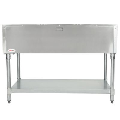 eagle dht3-120 electric hot food table back view