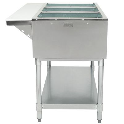 eagle dht3-120 electric hot food table side view