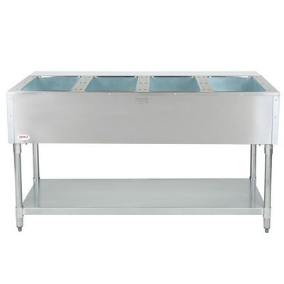 eagle dht4-120 electric hot food table back view