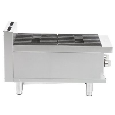 eurodib hp212 commercial gas hot plate side view