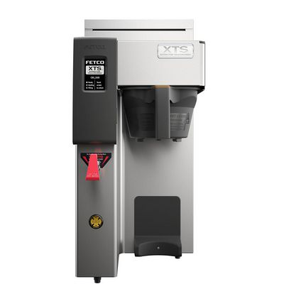 fetco cbs-2131xts-3l single airpot coffee brewer front view