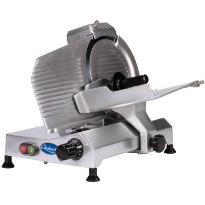 globe c10 meat slicer front view