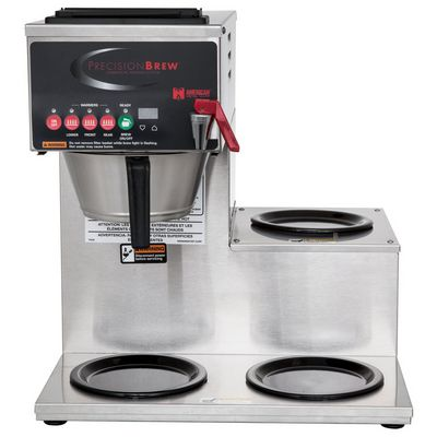 grindmaster b-3 automatic decanter coffee brewer front view